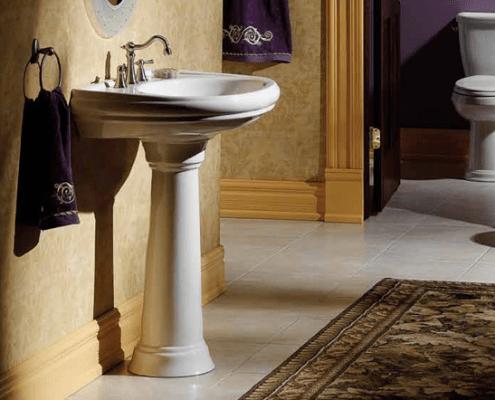 Photo of Pedestal sink