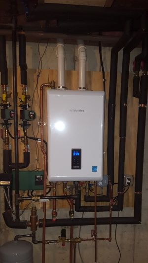 Photo of pretty Navien install small