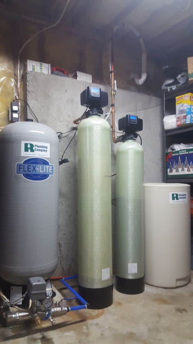 Photo of Water softener with well tank