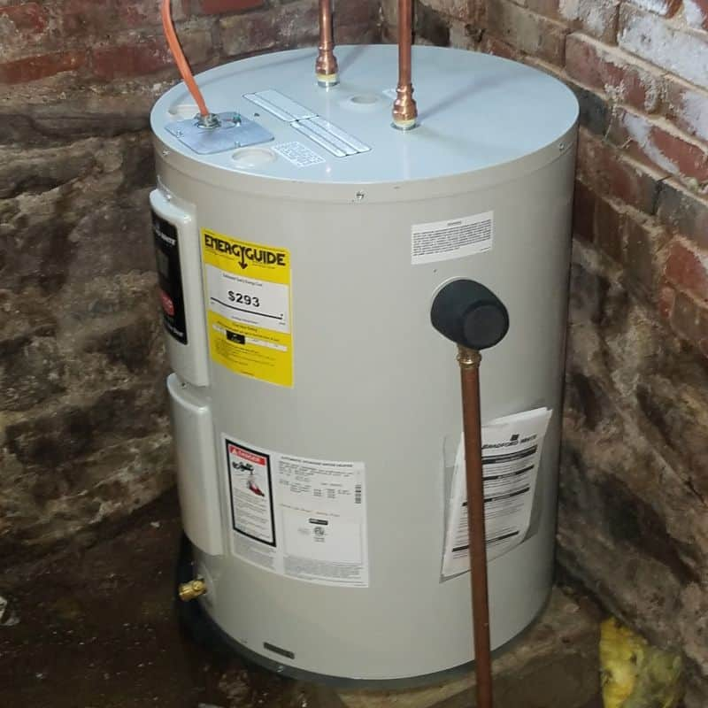 Photo of Electric water heater
