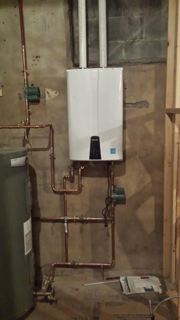 Photo of Navien Water Heater