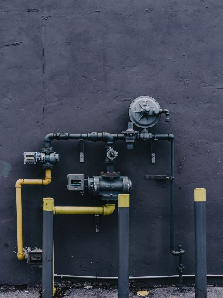 Photo of gas piping